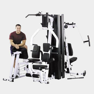Силовой спортивный комплекс - BODY SOLID EXM3000LPS/EXM3000LP, грузоблочный тренажёр, фото 1