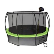 Большой каркасный батут для взрослых - HASTTINGS AIR GAME BASKETBALL 14FT, с защитной сеткой, фото 1