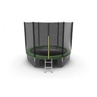 Батут EVO JUMP EXTERNAL 10 FT GREEN + LOWER NET, фото 1