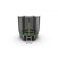 Батут EVO JUMP EXTERNAL 6 FT GREEN + LOWER NET, фото 1