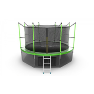 Батут EVO JUMP INTERNAL 12FT GREEN + LOWER NET, фото 1